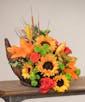 Sunflower Bounty Cornucopia