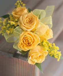 Yellow Roses Corsages