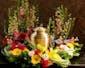 Urn Wreath Arrangement