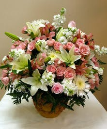 Fragrant roses & lilies