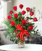 Dozen Red Roses (Christmas)