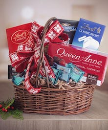 Dreaming of a Chocolate Christmas Basket