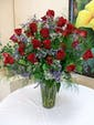 36 Red Roses with Premium Accent Flowers