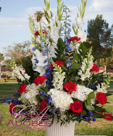 Casas Adobes Sympathy Arrangements Tucson Az Florist